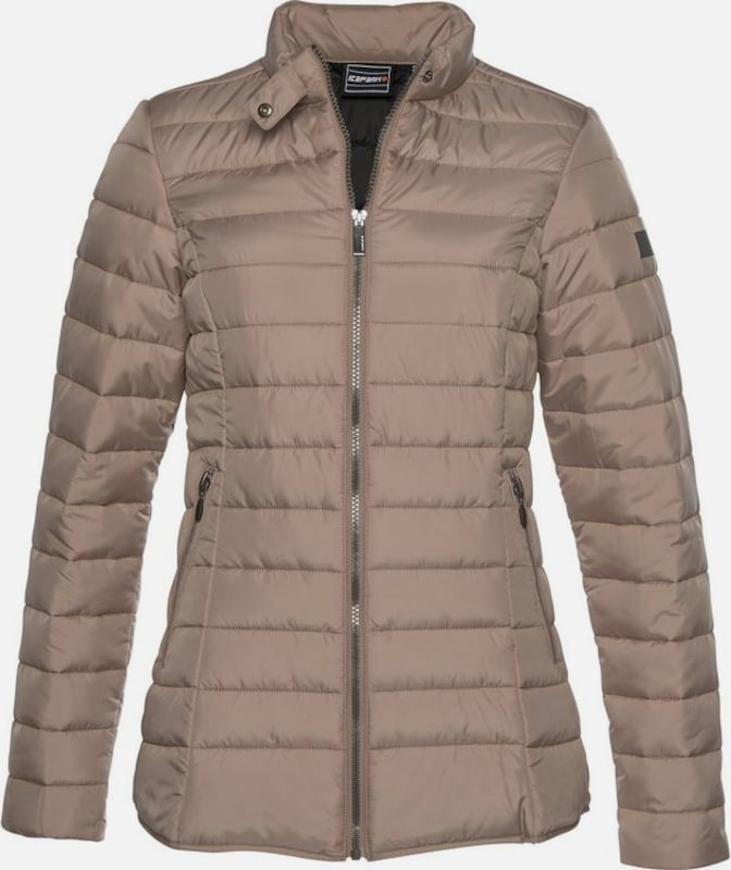 "ICEPEAK Steppjacke ""PEORIA"" in cappuccino, Produktansicht"
