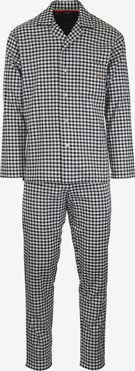 HOM Pyjama-Set in schwarz / weiß, Produktansicht