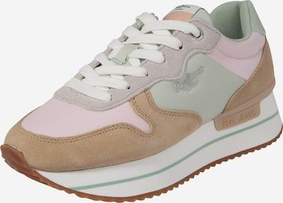 Pepe Jeans Sneaker 'RUSPER YOUNG' in beige / mint / rosa, Produktansicht