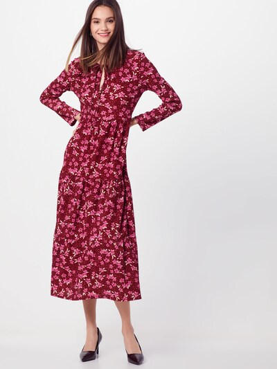 Palaidinės tipo suknelė 'TIERS OF JOY' iš Free People , spalva - raudona: Vaizdas iš priekio