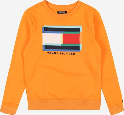 TOMMY HILFIGER Sweatshirt 'Fun Artwork ' in de kleur Gemengde kleuren / Sinaasappel, Productweergave