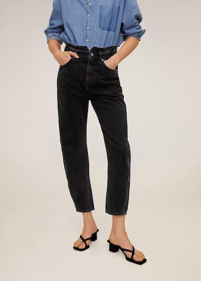 MANGO Jeans 'Slouchy' in schwarz, Modelansicht