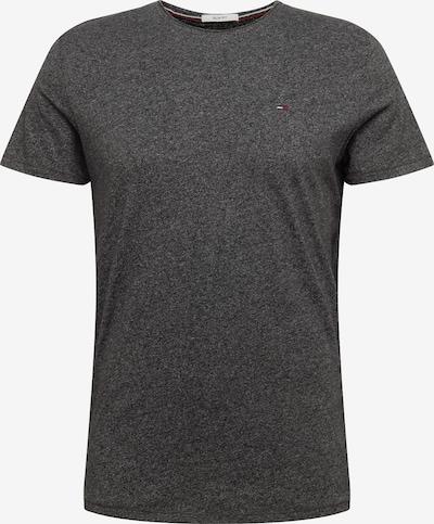 szürke melír / fekete Tommy Jeans Póló, Termék nézet