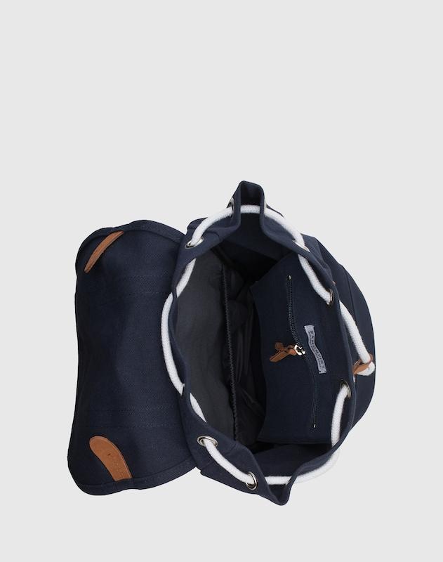SANDQVIST  Unisex-Rucksack mit Lederdetails 'Stig'