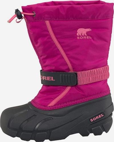 SOREL Outdoorschuh 'Youth Flurry' in pink / schwarz, Produktansicht
