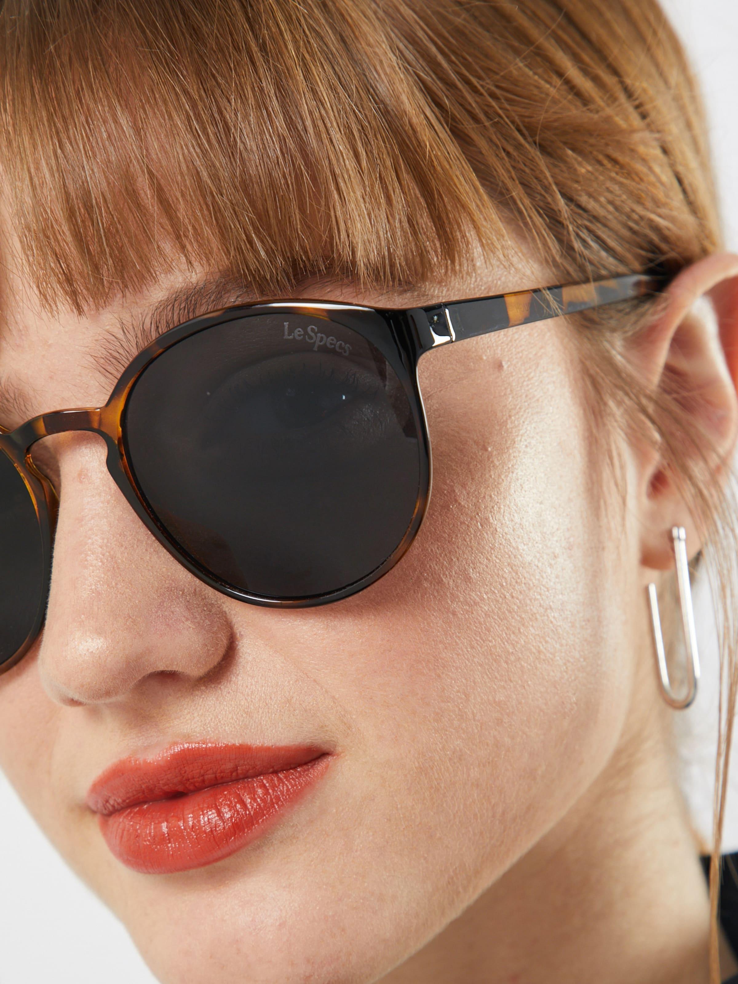 LE SPECS Napszemüveg 'Swizzle' barna / fekete színben