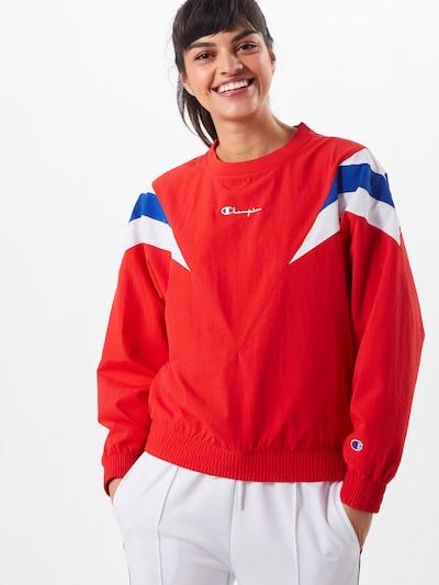 Champion Reverse Weave Sweatshirt in blau / rot / weiß: Frontalansicht