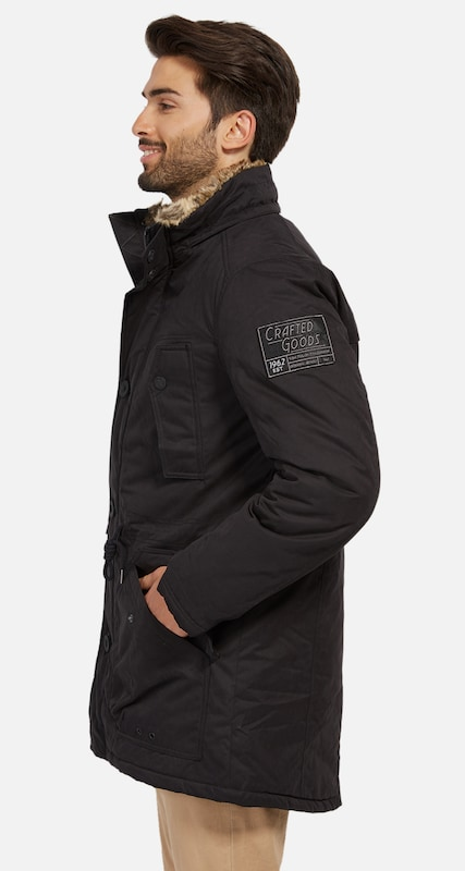 Tom Tailor Parka With Tunnel At Waist Height