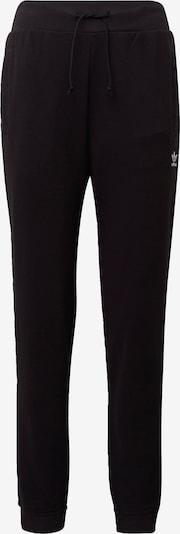 ADIDAS ORIGINALS Spodnie w kolorze czarny / białym: Widok z przodu