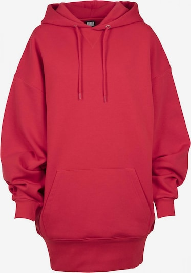 Urban Classics Hoody in feuerrot: Frontalansicht