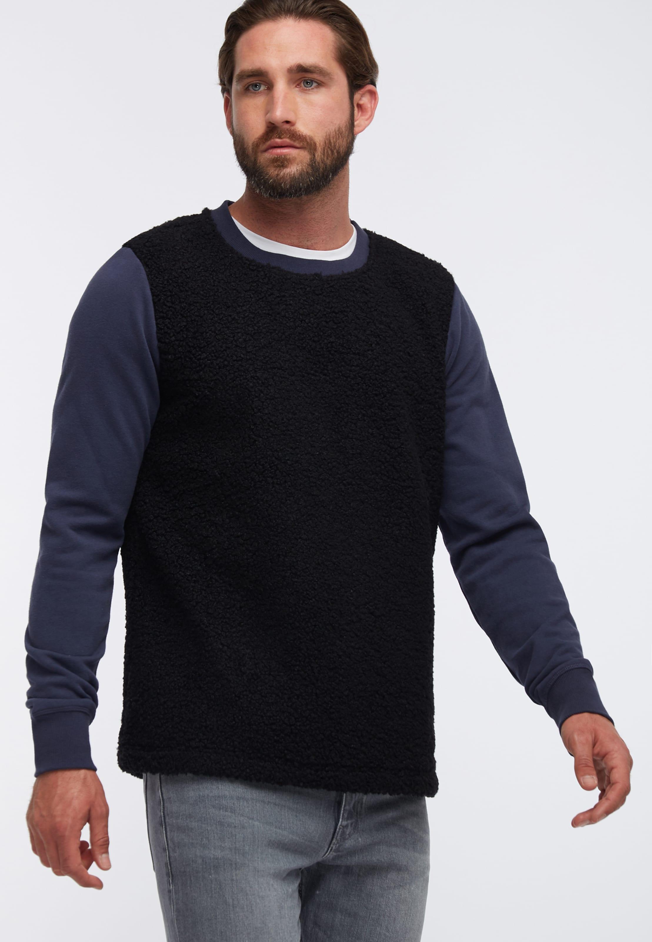 En Sweat shirt MarineNoir Dreimaster 35AjLcR4q