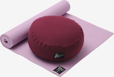 YOGISTAR.COM Yoga-set Starter Edition - Meditation in pink / rotviolett, Produktansicht