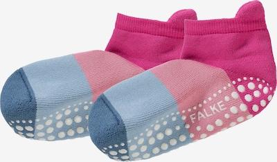 FALKE Sokken in de kleur Blauw / Lichtblauw / Pink / Oudroze, Productweergave