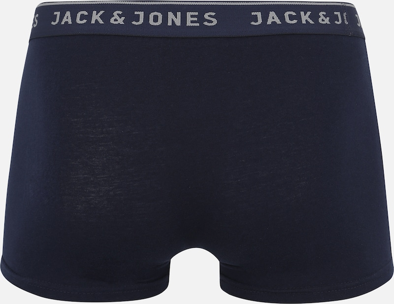 JACK & JONES Boxershorts 'VINCENT TRUNKS' in navy: Rückansicht