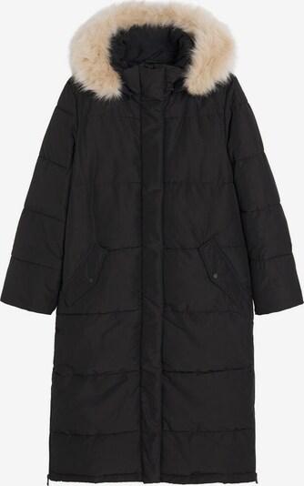 MANGO Płaszcz zimowy 'Aura' w kolorze czarnym, Podgląd produktu