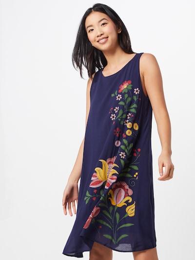 Desigual Kleid 'Anjou' in mischfarben / schwarz, Modelansicht