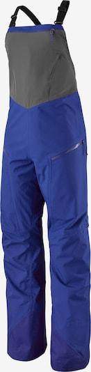 PATAGONIA Pantalon outdoor 'Snowdrifter Bibs' en bleu / gris, Vue avec produit