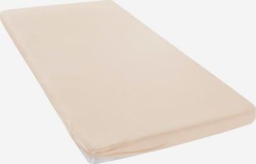 MY HOME Bed Sheet in Beige
