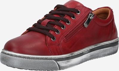 Batai su raišteliais iš COSMOS COMFORT , spalva - vyšninė spalva, Prekių apžvalga