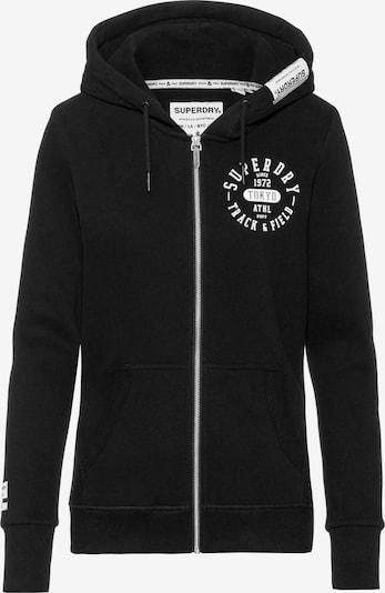 Superdry Sweatjacke in schwarz, Produktansicht