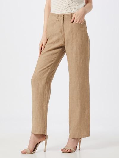 BRAX Pantalon 'Farina' en beige clair, Vue avec modèle