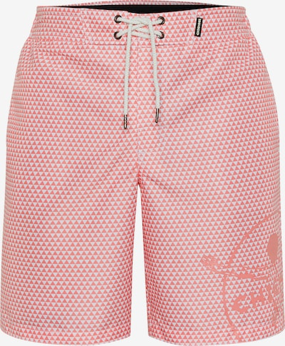 CHIEMSEE Boardshorts in de kleur Pink / Wit, Productweergave