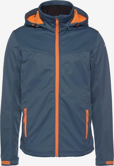 ICEPEAK Jacke in blau / orange, Produktansicht