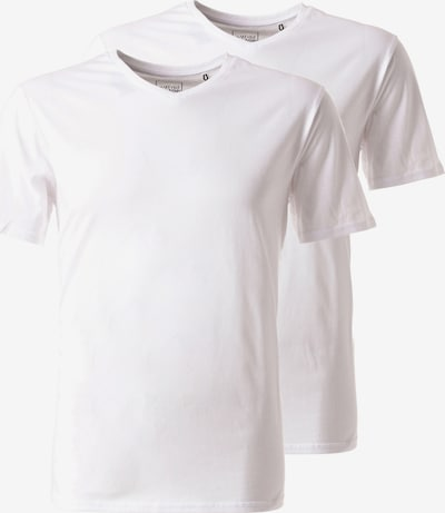 Lakeville Mountain T-Shirt 'V Neck Double Pack' in weiß, Produktansicht