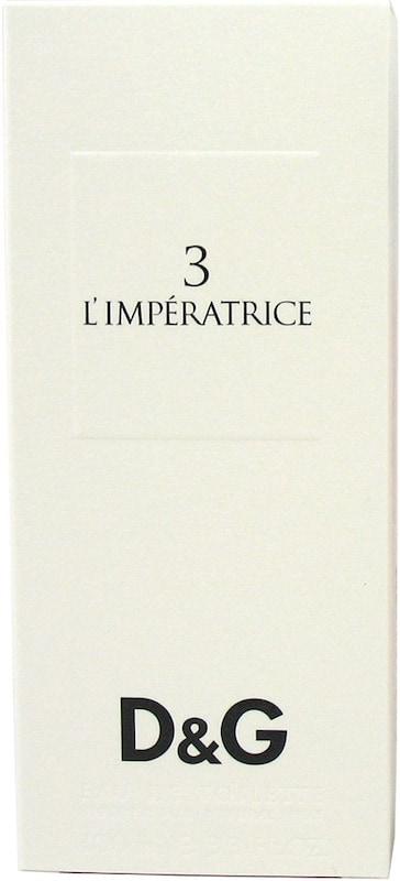 DOLCE & GABBANA '3 L`Impératrice', Eau de Toilette
