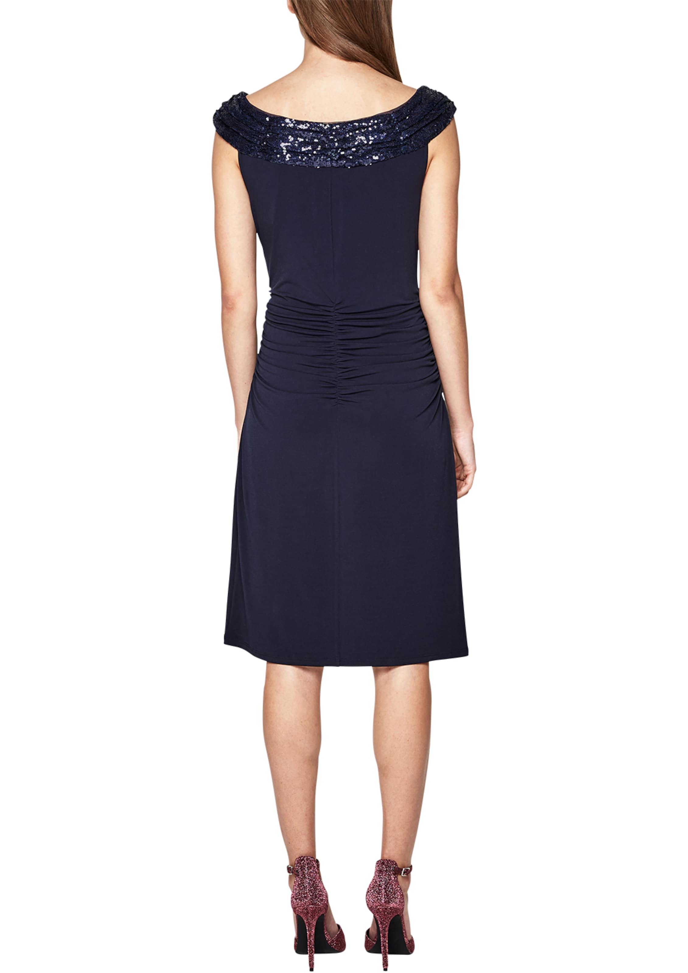 Verkauf Neuesten Kollektionen Billig Verkaufen Die Billigsten s.Oliver BLACK LABEL Figurbetontes Kleid mit Pailletten 0QyIt8De