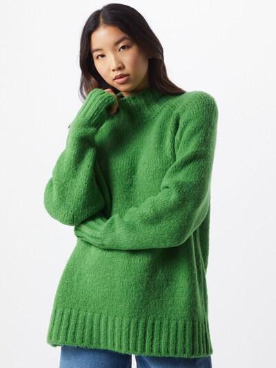 Herrlicher Pullover 'Labella' in grün, Modelansicht