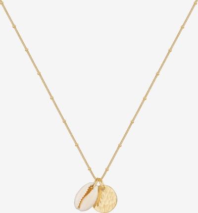 ELLI Kette 'Geo' in gold, Produktansicht