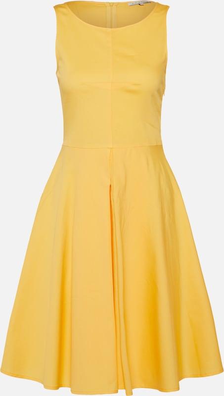 Cocktail WInverted amp;berry Jaune Robe Pleat' Flare Foncé De Dress Mint 'fitamp; En BoCdxe