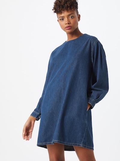 DENHAM Kleid 'ASHI' in blue denim, Modelansicht