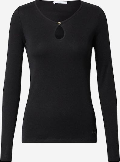 EDC BY ESPRIT Shirt in schwarz: Frontalansicht
