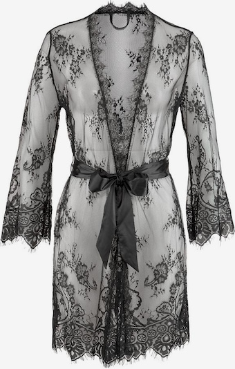 LASCANA Dressing Gown in Black, Item view