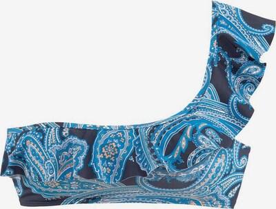 LASCANA Bustier 'Boho' in marine / mischfarben, Produktansicht