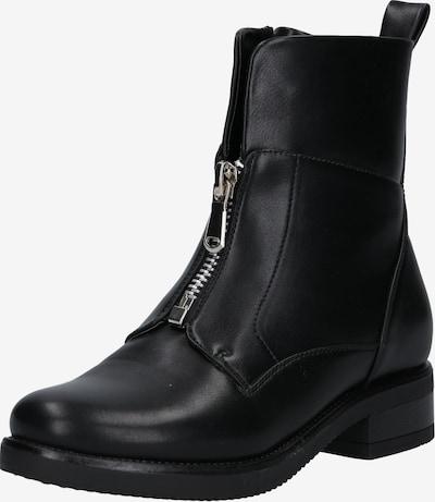 fekete ABOUT YOU Rövid szárú csizmák 'Hailey Shoe': Elölnézet