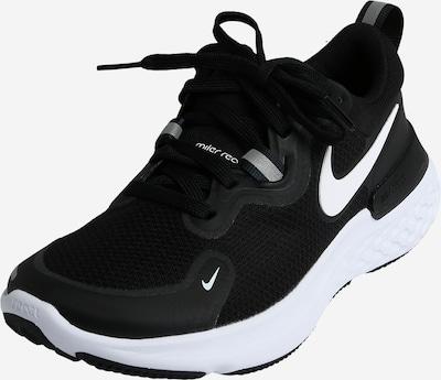 NIKE Sport-Schuhe 'Miler' in schwarz / weiß, Produktansicht