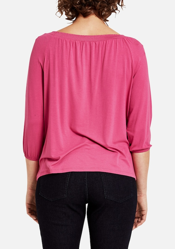 TRIANGLE Feminines Shirt aus Viskosestretch