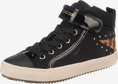 GEOX Sneaker 'Kalispera' in gelb / orange / schwarz, Produktansicht