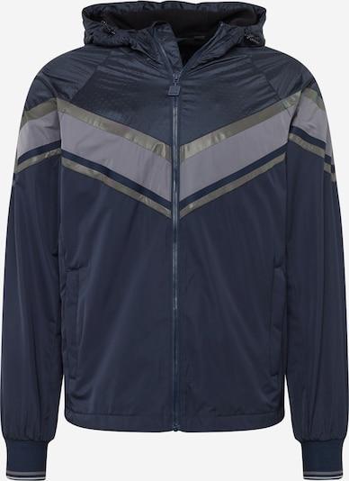 Superdry Tussenjas 'ECLIPSE CAGOULE' in de kleur Navy / Grijs, Productweergave