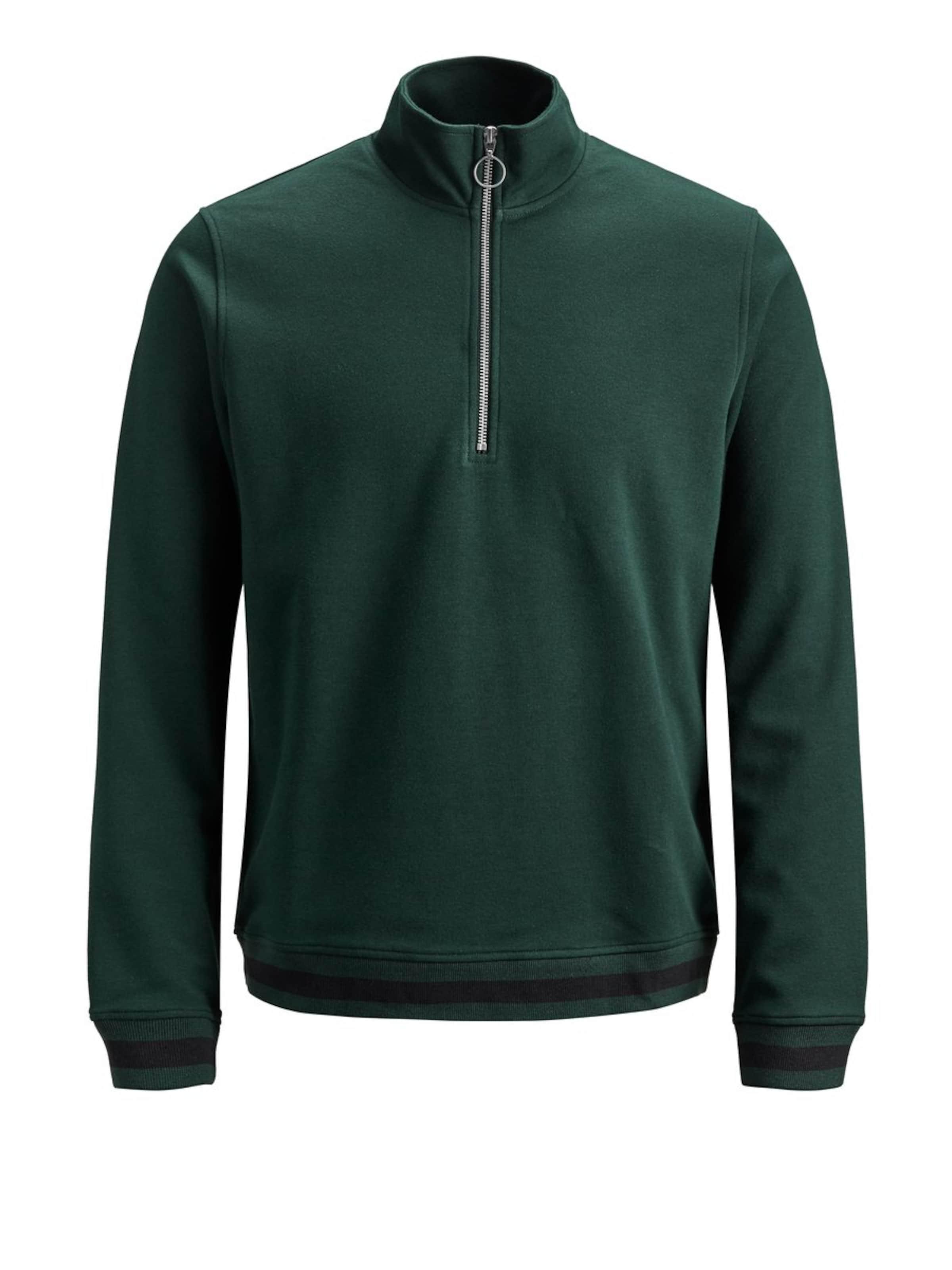 In Jackamp; JonesSweat FoncéNoir shirt Vert Rq543jLA
