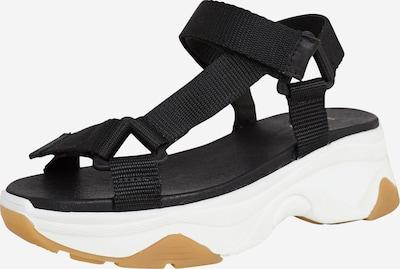 EDITED Sandale 'Tebea' in schwarz, Produktansicht