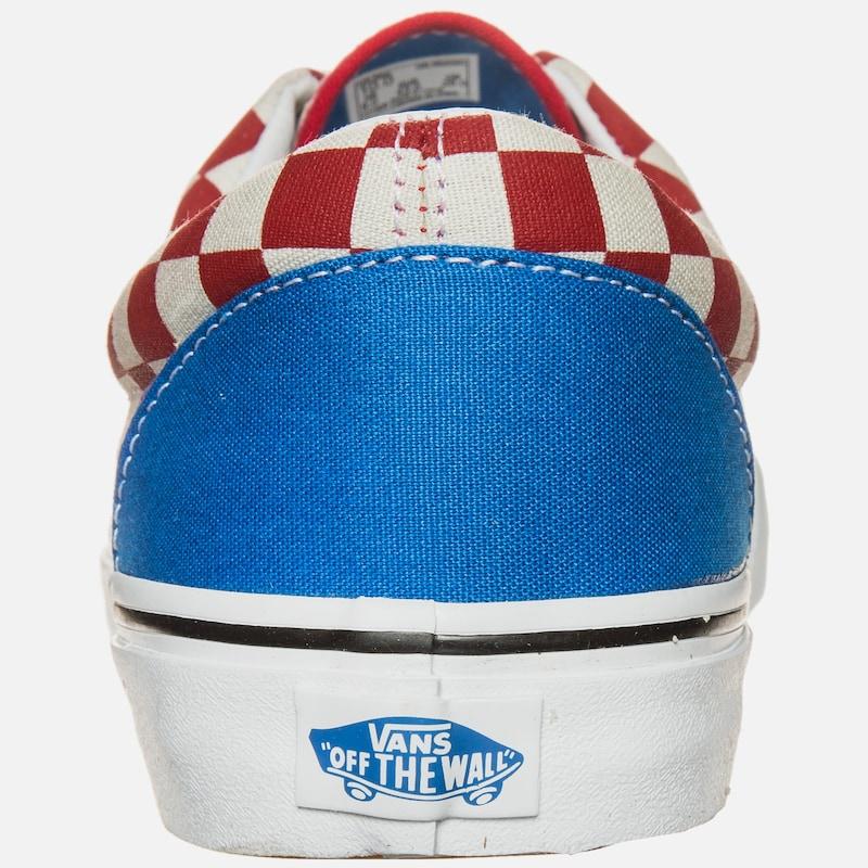 VANS 'Era 2 Tone Check' Sneaker Herren in royalblau rot