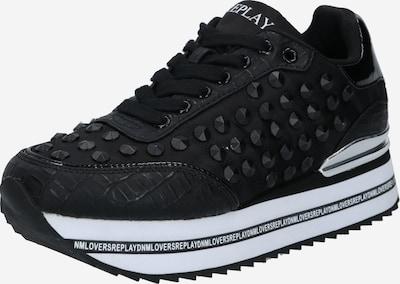 REPLAY Sneaker 'Narcissus' in schwarz / weiß, Produktansicht
