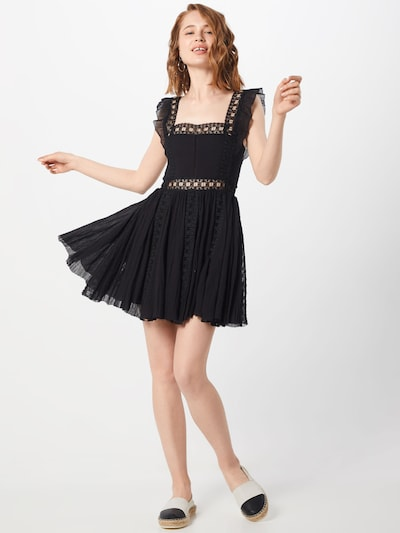 Free People Kleid 'Verona Dress' in schwarz, Modelansicht