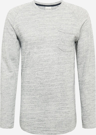 JACK & JONES Majica 'Coozil' u svijetlosiva / bijela, Pregled proizvoda