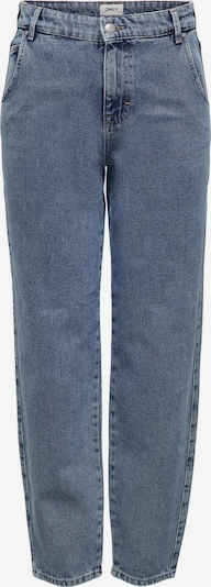 ONLY ONLTroy Life HW Carot Ankle Straight Fit Jeans in blau, Produktansicht