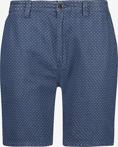 Shiwi Shorts  'Jack' in blue denim / weiß, Produktansicht